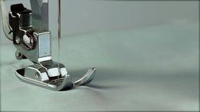 Impianti della macchina per cucire del piede video d archivio