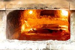 Impianti di alluminio della fonderia Fotografia Stock Libera da Diritti