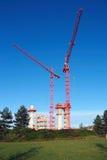 Impianti di costruzione Fotografia Stock Libera da Diritti