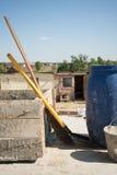 Impianti di costruzione Fotografie Stock Libere da Diritti