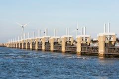 Impianti di delta di Oosterschelde Fotografia Stock