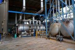 Impianti industriali Fotografie Stock