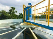 Impianti per il trattamento delle acque Immagini Stock Libere da Diritti