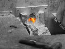 Impianti in una fonderia Fotografia Stock Libera da Diritti