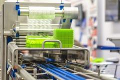Impiantistica per l'industria alimentare fotografia stock