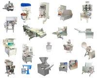 Impiantistica per l'industria alimentare Immagine Stock