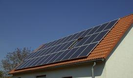 Impianto di ad energia solare 03 Fotografie Stock