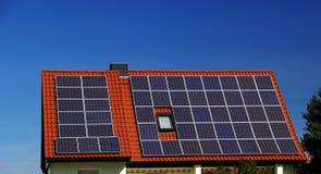 Impianto di ad energia solare 05 Fotografie Stock