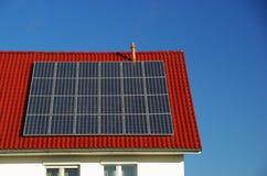 impianto di ad energia solare 11 Fotografie Stock