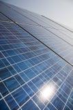 Impianto di ad energia solare Immagine Stock
