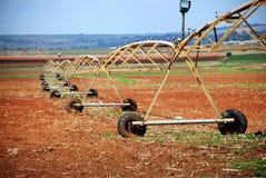 Impianto di irrigazione agricolo Immagini Stock