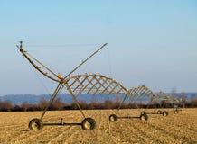 Impianto di irrigazione dell'acqua Fotografie Stock