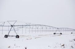 Impianto di irrigazione di agricoltura Fotografie Stock