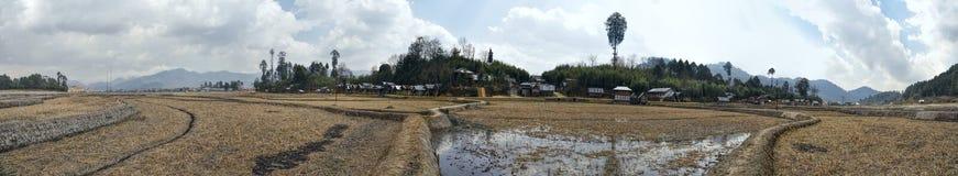 Impianto di irrigazione in India Fotografia Stock