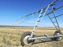 Impianto di irrigazione moderno Immagine Stock