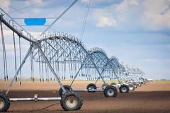 Impianto di irrigazione moderno Fotografia Stock Libera da Diritti