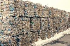 Impianto di lavorazione residuo Processo tecnologico Riciclando e deposito dei rifiuti per ulteriore disposizione Affare per ordi Immagini Stock