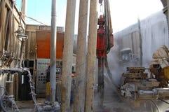Impianto di perforazione. Fotografie Stock