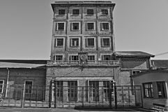Impianto di produzione del sale Fotografia Stock Libera da Diritti