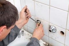 Impianto idraulico immagine stock libera da diritti