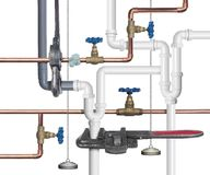 Impianto idraulico royalty illustrazione gratis