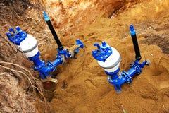 Impianto idraulico e tubi Fotografia Stock Libera da Diritti