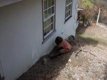 Impianto idraulico in Isole Sopravento meridionali stock footage