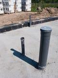Impianto idraulico nella nuova casa immagini stock libere da diritti