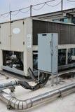 Impianto idraulico per la HVAC Immagine Stock Libera da Diritti