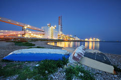 Impianto industriale Fotografie Stock Libere da Diritti