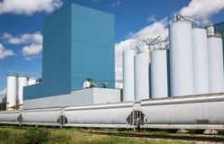 Impianto industriale Immagini Stock Libere da Diritti