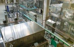 Impianto lattiero. Fotografia Stock