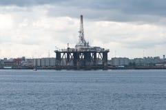 Impianto offshore Fotografie Stock Libere da Diritti