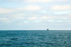 Impianto offshore dell'oceano Immagini Stock Libere da Diritti