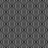 Impianto a scacchiera lineare, diamante, quadrato, fondo senza cuciture Immagine Stock