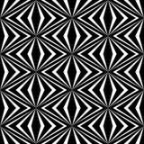 Impianto a scacchiera lineare, diamante, quadrato, fondo senza cuciture Fotografia Stock
