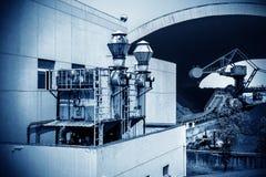 Impianto termoelettrico Immagini Stock Libere da Diritti