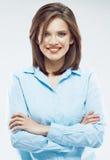 Impiegato di concetto della donna Donna di affari - 2 Fotografia Stock