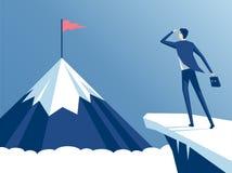 Impiegato e montagna royalty illustrazione gratis