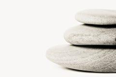 Impilato delle pietre di zen Fotografia Stock Libera da Diritti