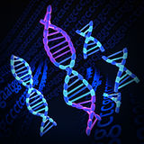 Impionbatura del DNA Fotografie Stock