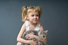 Impish girl Royalty Free Stock Photos