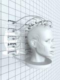 Implantação dos sentimentos ilustração stock