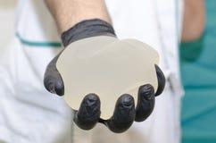 Implante de peito do silicone Imagens de Stock Royalty Free