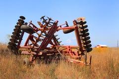 Implementar da exploração agrícola Fotografia de Stock