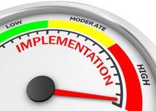 implementation illustration libre de droits