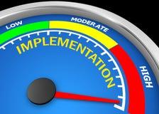 implementation illustration stock