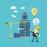 Implementation Ideas Architect Royalty Free Stock Photography