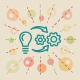 implementation Illustration d'affaires de concept illustration libre de droits