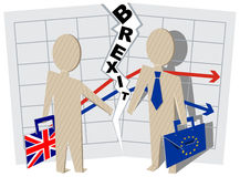 Implications for Business brexit Britain and European Union Royalty Free Stock Images